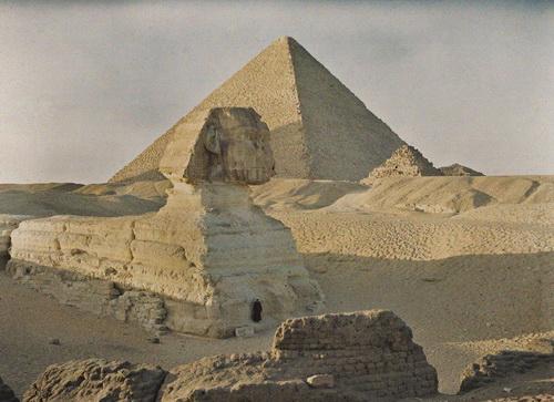 Egypt, Giza, 1913. © Musée Albert-Kahn.jpeg