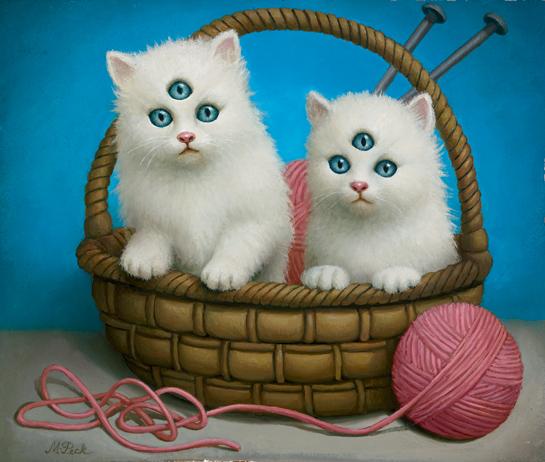 kittens-oil-on-panel-12-x-14-2003
