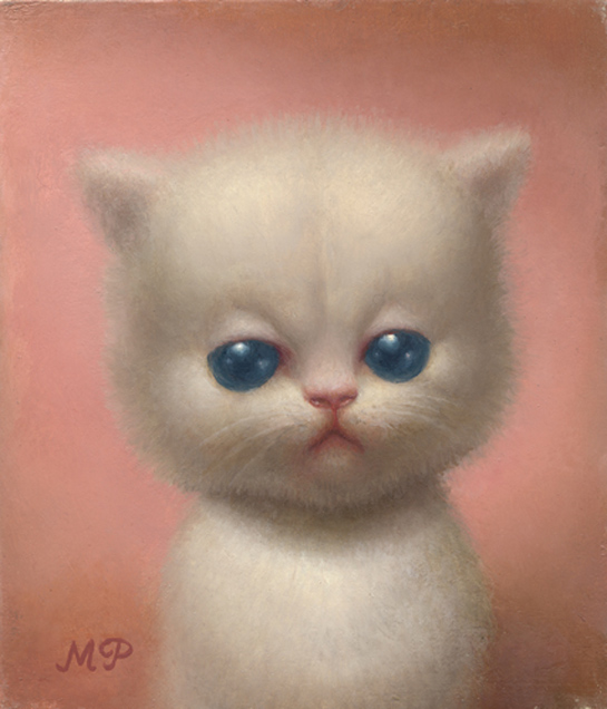 kitty-oil-on-panel-7-x-6-2005