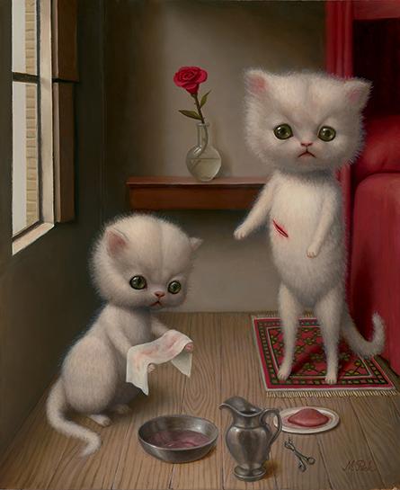 POVODOM SVJETSKOG DANA MAČAKA Nadrealizam Marion Peck /ON THE OCCASION OF WORLD CAT DAY Surrealism MarionPeck