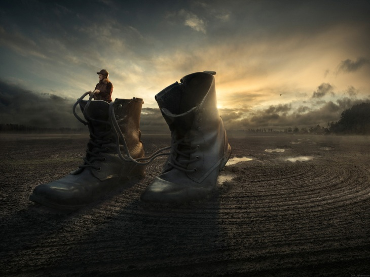 Walk a Way Erik Johansson