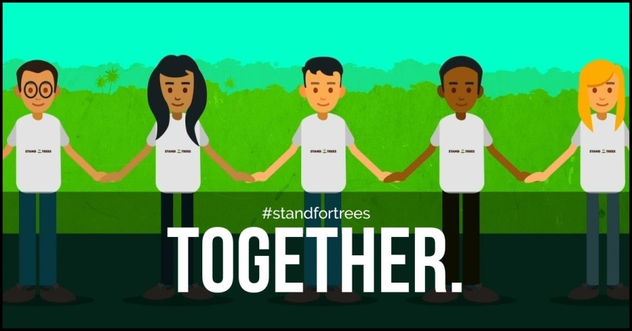 EARTH DAY #standfortrees!