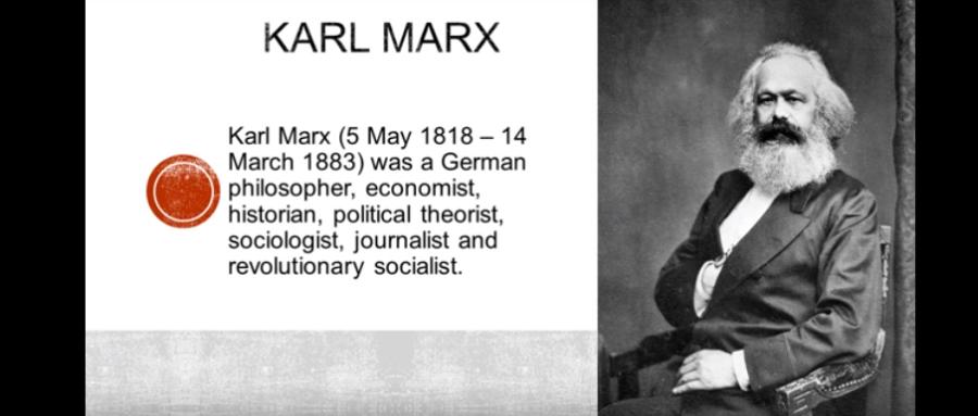 KARL MARX 200thANNIVERSARY