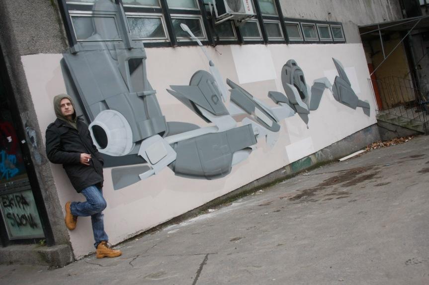 """GALIĆ ZA ZAMISLI.BA/ SRĐAN DIMIĆ DEMON: """"Grafiti su bili moj odgovor i borba protiv sveprisutnijegtreša"""""""