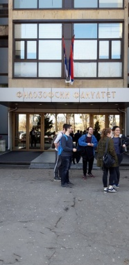 Foto: Filozofski fakultet u Novome Sadu