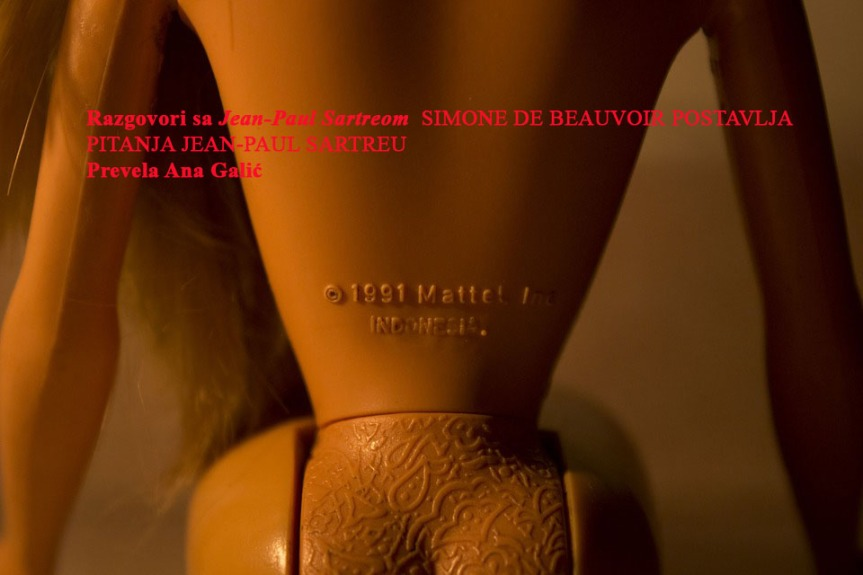 Razgovori sa Jean-Paul Sartreom  SIMONE DE BEAUVOIR POSTAVLJA PITANJA JEAN-PAUL SARTREU (prevela A.Galić)